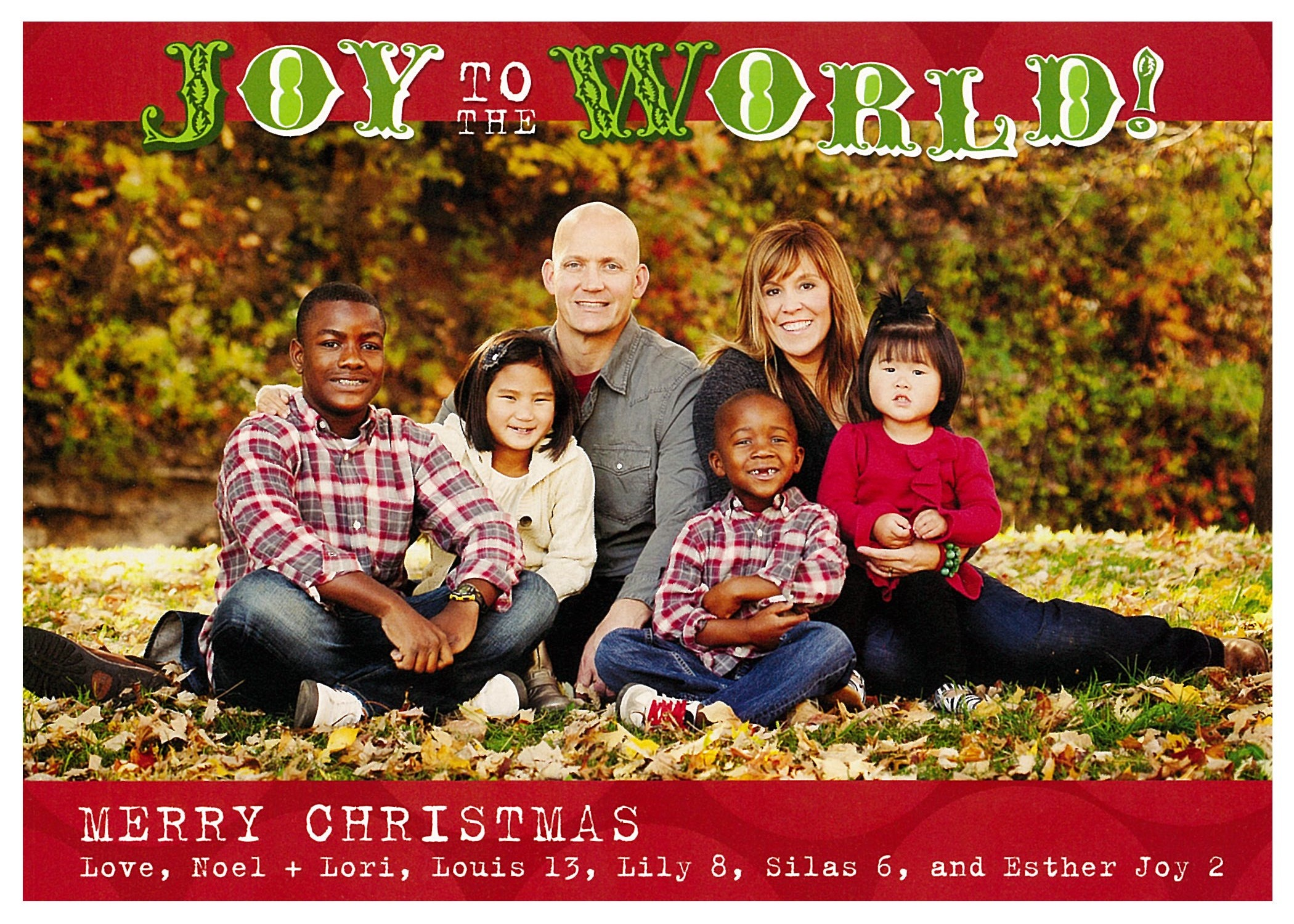Christmas Cards | Families Outreach